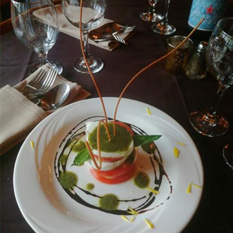 Vincent's Italian Restaurant Rooms food