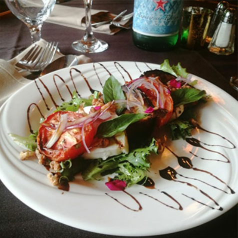 Vincent's Italian Restaurant Rooms food2
